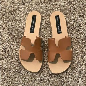 EUC. Worn Once. STEVEN—Greece Sandals.
